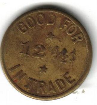 Reverse Image Tc 55627 Good For 12½ In Trade